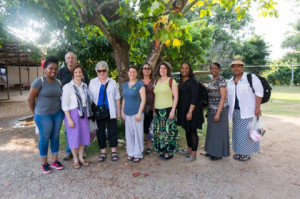 Molly T. Marshall and Women's Leadership Initiative on Thailand Pilgrimage