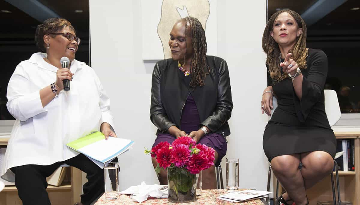 Melissa Harris-Perry, Andrea Jenkins, and Lisa Anderson in conversation about leadership and care for transgender women of color as a revolutionary act.