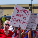 #KeepFamiliesTogether: Communities rally to stop family separation on US borders.