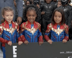E! Oscars Show Celebrates Black Panther Challenge with Frederick T. Joseph