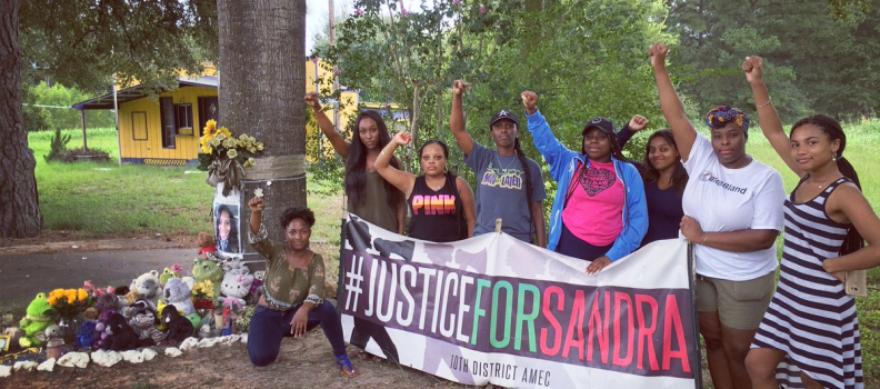 "Honoring Sandra Bland: ""Someone Will Fight For Me"""