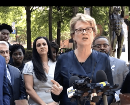 In wake of Kavanaugh's confirmation, faith leaders called to stand against violence