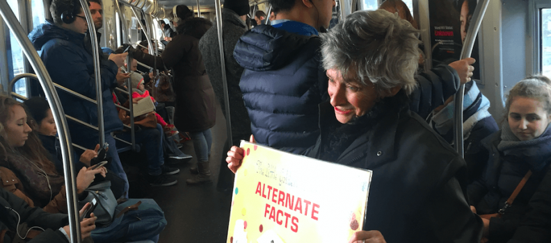 An Invitation To Resistance: One Subway Car At A Time