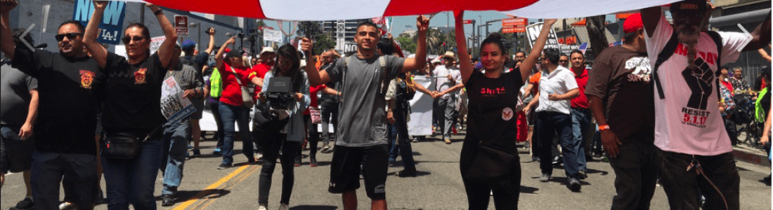 This Year's May Day Demonstrations Draw Biggest Crowds in 40 Years