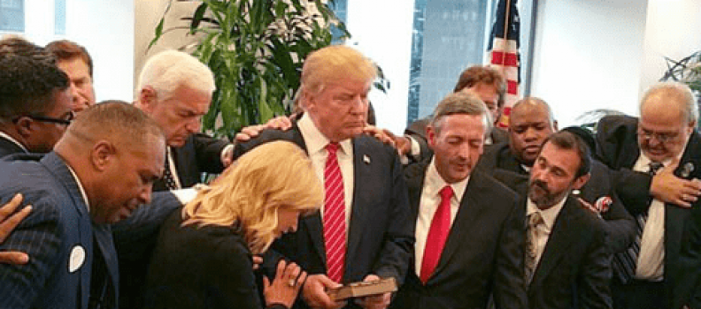 Why Every Member of Trump's Evangelical Advisory Board Should Quit, And Why They Probably Won't