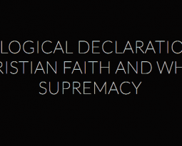 The Declaration: Speaking the Truth, With Love, Without Apology