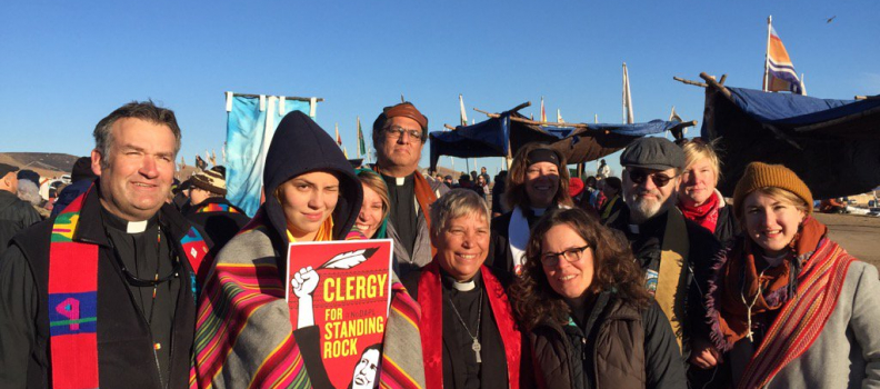 At Standing Rock, Over 500 Clergy Answer The Call To Reconcile and Stand Witness