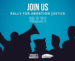Auburn co-sponsors faith-based events at the Rally for Abortion Justice