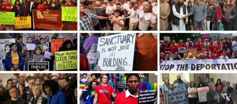 Join the Sanctuary National Day of Action on January 17