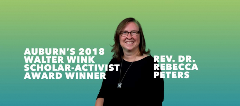 Rise to the Challenge of Justice: Celebrating The Rev. Dr. Rebecca Peters